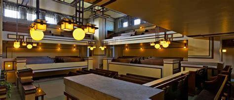 Interior Design Window Treatments by Unity Temple Frank Lloyd Wright Trust
