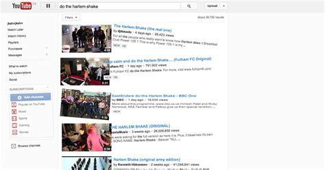 membuat youtube harlem shake google makes youtube do the harlem shake with latest