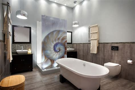 bathroom bizare trendy tiles