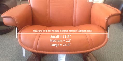 recliner size stressless recliner chair size guide measurement how do i