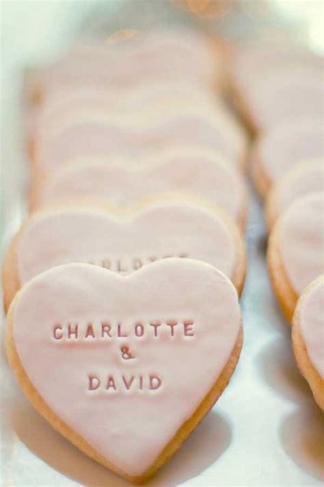 Wedding Favor Idea Sted Shortbread Cookies by 100 Unique Wedding Favor Ideas Shutterfly