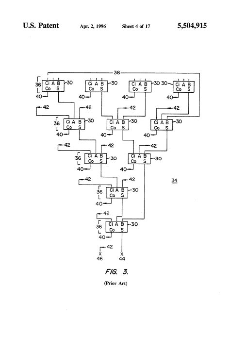 wallace tree multiplier tutorial patent us5504915 modified wallace tree adder for high