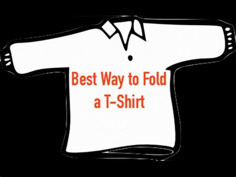 Best Way To Fold T Shirts For Drawers by How To Actually Fold A T Shirt Best Way