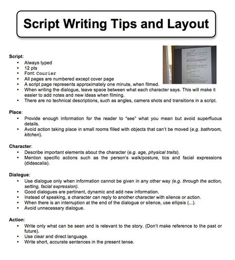 layout writing book step by step video production