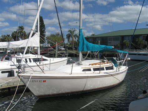 catalina sailboats for sale florida 1986 catalina 27 sailboat for sale in florida