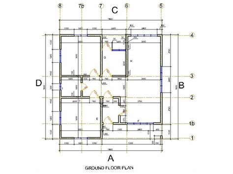 foundation floor plan concrete foundation plans simple building foundation plan