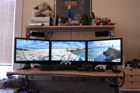 cer screen room seamless 3 identical acer h233h 23 quot lcd monitors my hodge flickr
