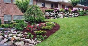 backyard simple landscaping ideas home