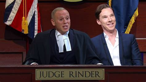 benedict cumberbatch married judge rinder and his husband benedict cumberbatch wedding judge rinder was best man at
