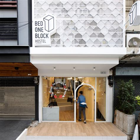 Bunk Beds For Small Rooms This Modern Hostel Design In Bangkok Thailand Brings A