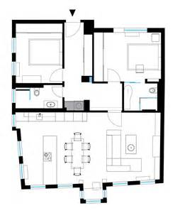 3 Bedroom Flat Plan Drawing apartment 120 sq meters by m2 design studio2014 interior