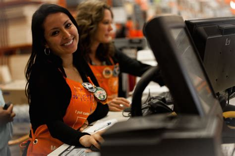 cashier the home depot office photo glassdoor
