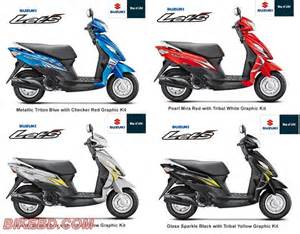 Suzuki Lets Suzuki Lets New Scooter In Bangladesh Bikebd