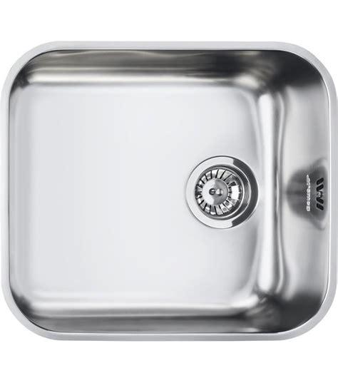 lavello incasso una vasca smeg lavello ad una vasca um45 finitura acciaio inox
