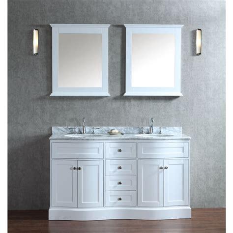 60 inch bathroom vanities double sink montauk 60 inch double sink bathroom vanity set