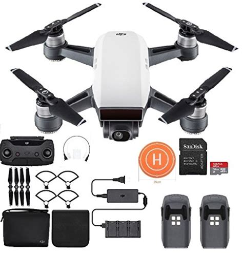 Dji Spark Eu Non Combo Propeller Guard Battery Garansi Tam dji spark fly more combo mini drone safety bundle alpine white remote controller
