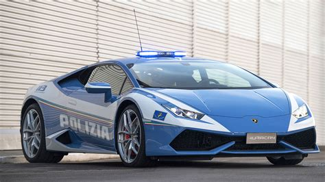 Lamborghini Pics Lamborghini Delivers A New Hurac 225 N Polizia To The Italian