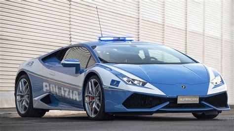 Lamborghini delivers a new Huracán Polizia to the Italian