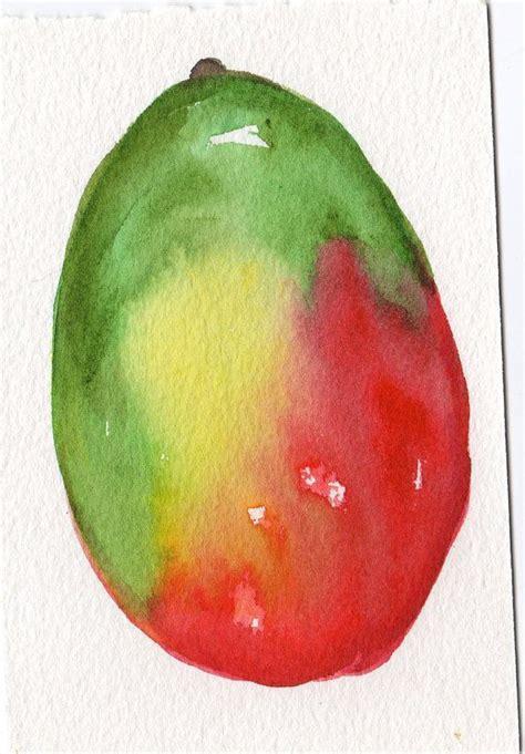 Mango 100 Original 11 best mango images on watercolor fruit