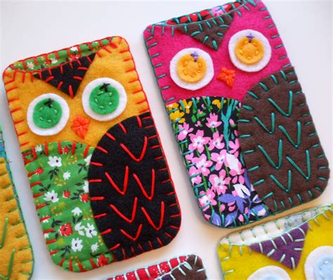 Handmade Sewing Gifts - modcloth handmade contest owl gadget cozy accessory