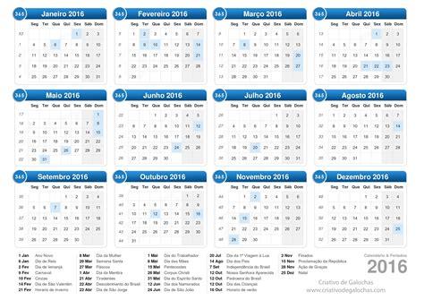 recargos para sua 2016 marque na sua agenda calend 225 rio de feriados e datas