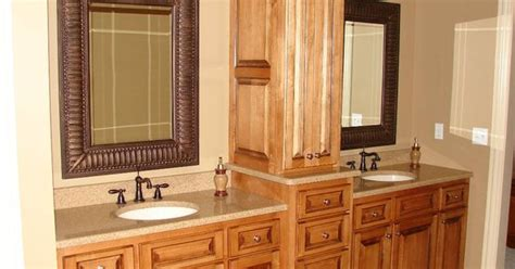 bathroom wall dressing and cupboards bathroom vanities with hutches maple vanity with linen