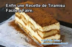 Recette De Cuisine Tiramisu