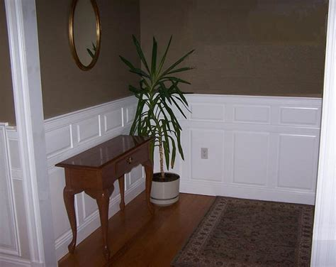 Brown Wainscoting by Portfolio Of Installed Wainscoting Residential