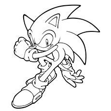 images  coloring sonic  hedgehog