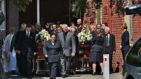 mourners gather in murrumbeena for funeral of robert and