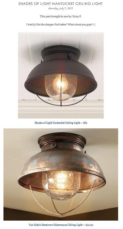 Nantucket Ceiling Light Coles Room Copy Cat Chic Find Shades Of Light Nantucket Ceiling Light Vs S Restorers