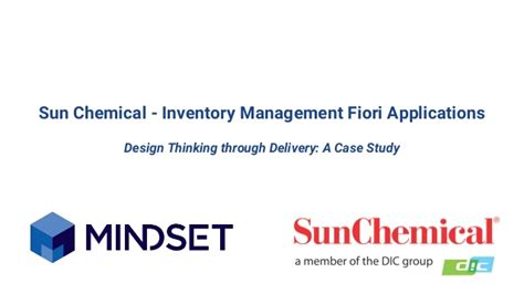 design thinking jobs chicago sun chemical inventory management fiori applications