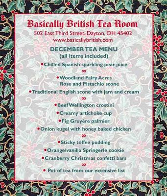 rabbit run cottage a christmas tea