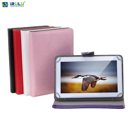 Sarung Tab Universal 10 Inch universal 10 inch folding folio faux leather smart stand skin cover for 10 1 quot tablet pc