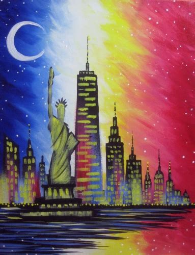 paint nite new york groupon nosh the courtyard central park teambigapple paint