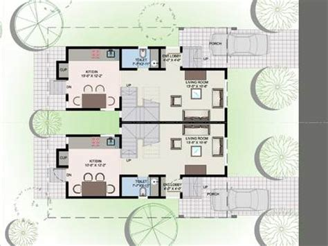 twin home floor plans small bungalow house plans twin bungalow floor plan
