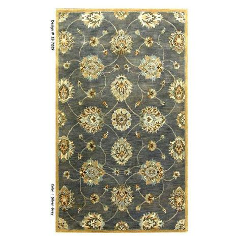 Kas Rugs Simple Perfection Blue Yellow 8 Ft X 10 Ft 6 In Simple Area Rugs