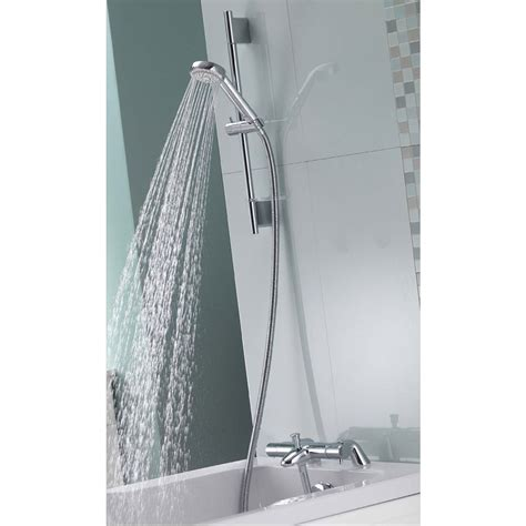Aqualisa Thermostatic Bath Shower Mixer aqualisa midas 200 bath shower mixer with slide rail kit