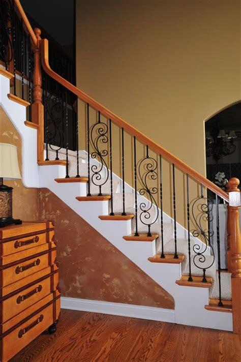 Rod Iron Staircase Wrought Iron Baluster Upgrade