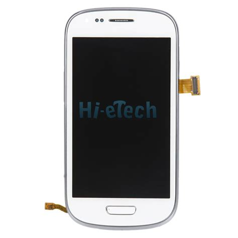 008808 Lcd Samsung I8190 S3 Mini Blue Org genuine lcd touch screen digitizer frame for samsung