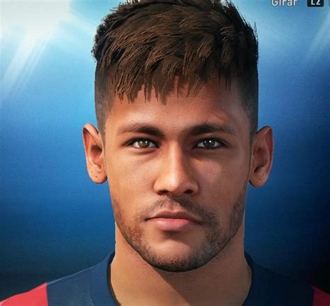 hair neymar pes 2015 name pin neymar faces pack pro evolution soccer 2013 at