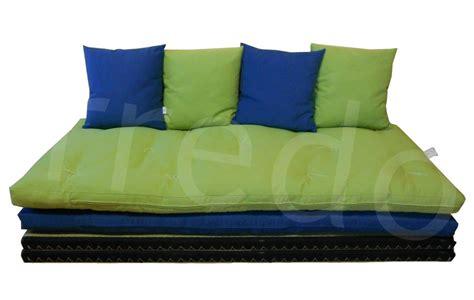futon divano letto divano letto futon pacha matrimoniale cotone manopesca