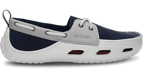 ace boating crocs navy white crocs navy white cove sport comfortable men s boat shoes