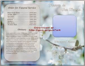 funeral booklet templates 10 best images of funeral program booklet free funeral