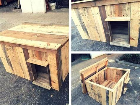 dog house made from wooden pallets dog house made of wooden pallets