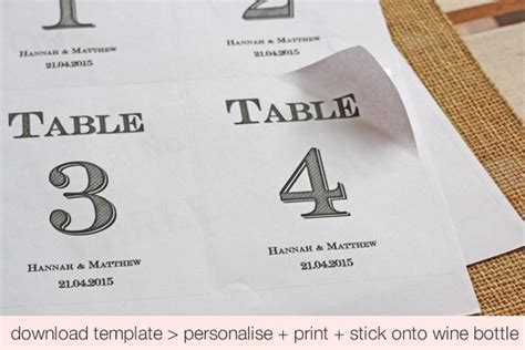 Rustic Table Numbers Template Coma Frique Studio Db510cd1776b Vintage Table Numbers Template