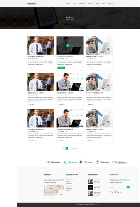 blog theme meaning meaning corporate psd template by ray theme420 themeforest