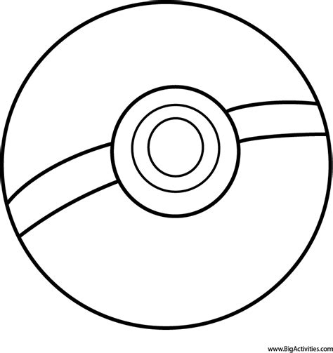 pokeball template pokeball coloring pages printable coloring pages