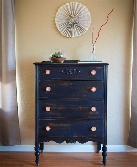 furniture: Redecorating DIY Old Dresser with Some Simple