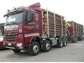 Schemel Kran by Mercedes Arocs 3763 8x4 Timber Transport From Finland